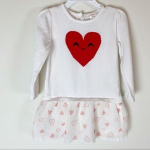 Gymboree Baby 18-24 Months Heart Sweater Dress